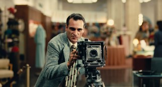 "Freddie Quell's (Joaquin Phoenix) employment as a department store photographer comes to an abrupt and unforeseen end near the beginning of Paul Thomas Anderson's ""The Master."""