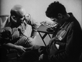 "A traumatized WWII veteran gets help in John Huston's 1946 documentary ""Let There Be Light."""