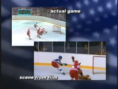 "Comparison of Movie and Real Game from ""The Making of Miracle"""