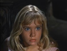 "Seventeen-year-old Hayley Mills stars in ""The Moon-Spinners"""