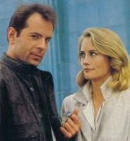 "Bruce Willis and Cybill Shepherd star in ""Moonlighting"", coming to DVD in 2005."