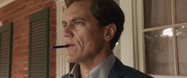 Michael Shannon picked up a slew of supporting actor award nominations for his turn as e-cigarette smoking realtor Rick Carver, who specializes in evictions and exploitation of the housing system.