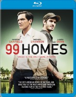 99 Homes Blu-ray Disc cover art -- click to buy exclusively at Best Buy