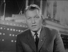 "This host of Sweden's ""En Natt att Minnas"" gives us some somber readings from Walter Lord's book in this 50th anniversary Titanic remembrance."