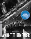 A Night to Remember: The Criterion Collection Blu-ray cover art -- click to buy from Amazon.com
