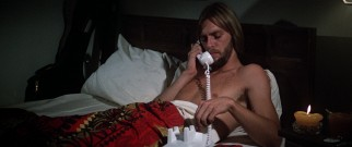 Tom (Keith Carradine) spends much of the film naked in bed, though rarely alone and never joined by the same woman twice.