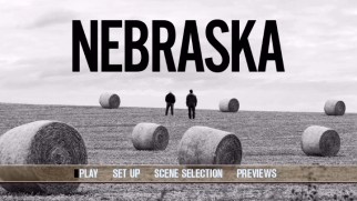 "The ""Nebraska"" DVD's main menu loses an extras listing and gains a Previews one."