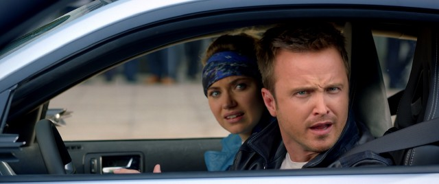 """Need for Speed"" stars Aaron Paul as Tobey Marshall, a New York mechanic and racer who violates his parole to settle a score and prove his innocence."