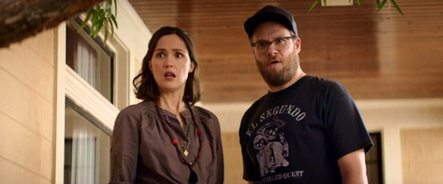 Kelly (Rose Byrne) and Mac Radner (Seth Rogen) are surprised and disturbed to find the former frat house next door is now housing a newly formed sorority while their house is in escrow.