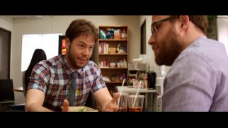 Jimmy (Ike Barinholtz) features prominently in Line-O-Rama as he voices his pre-fatherhood fears.