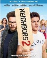 Neighbors 2: Blu-ray + DVD + Digital HD cover art - click to buy from Amazon.com