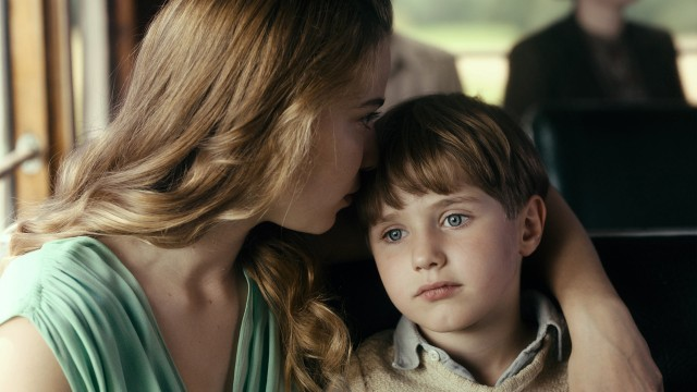 "In limited screentime, Kurt's aunt Elisabeth May (Saskia Rosendahl) makes a big impression both on him (played as a child by Cai Cohrs) and the viewer of ""Never Look Away."""