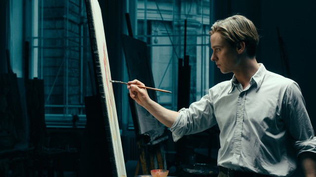 "The grown-up Kurt Barnert (Tom Schilling) must combat his demons to flourish as an artist in ""Never Look Away."""