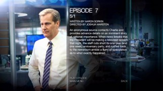 Typical for an HBO show, the menus supply detailed episode synopses (plus previews, recaps, and more on Blu-ray).