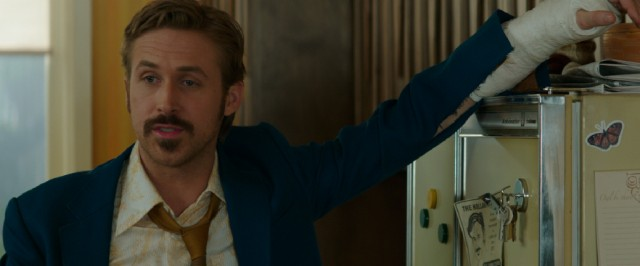 "While guaranteed a Best Actor in a Comedy or Musical nomination for ""La La Land"", Ryan Gosling also deserves recognition for his funny turn as smell-impaired, hard-drinking private detective Holland March in ""The Nice Guys."""
