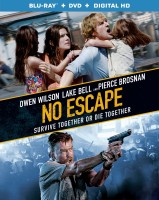 No Escape Blu-ray + DVD + Digital HD combo pack cover art - click to buy from Amazon.com