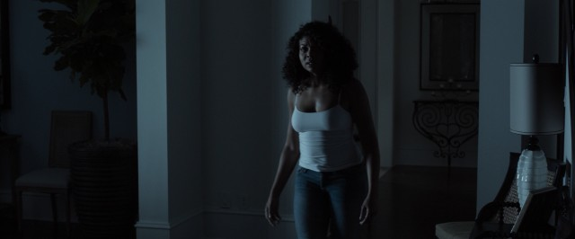 Terry (Taraji P. Henson) opts for tight clothing in the presence of the hunky escaped convict.