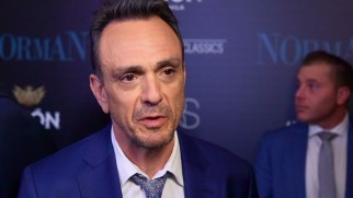 Hank Azaria discusses the film on the red carpet of its premiere.