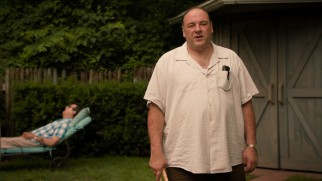 Pat Damiano (James Gandolfini) is none too pleased with his son's plans.