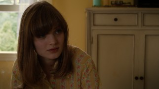 Love interest Grace Dietz (Bella Heathcote) sympathizes with her troubled, eccentric sister.