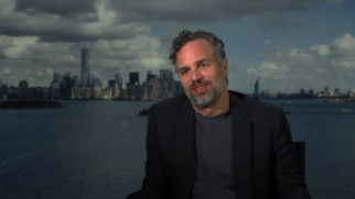 "Bearded silver fox Mark Ruffalo (star of ""You Can 'Depend' on Me"") testifies to the cast's camaraderie in ""The Art of the Ensemble."""