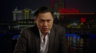 Director Jon M. Chu seems happy about every aspect of the movie including shooting in London and Macau.