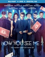 Now You See Me 2: Blu-ray + DVD + Digital HD cover art -- click to buy from Amazon.com