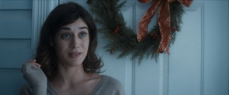 Lizzy Caplan stands by Rogen and company as Diana, the girl that got away from Ethan.