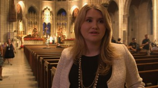 "Jillian Bell is among the cast members discussing ""Midnight Mass in Nana"" in character."