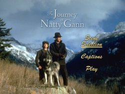 The Journey of Natty Gann DVD main menu