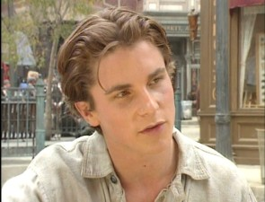 Future Batman Christian Bale opens up in this vintage Newsies interview.