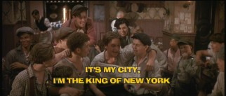 "Sing along with the likes of Bill Pullman on ""King of New York."""