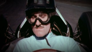 The mustache was popular with early Formula 1 racers.