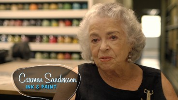 "Ink and painter Carmen Sanderson recalls working on ""101 Dalmatians"" in the brand new featurette ""Lucky Dogs."""