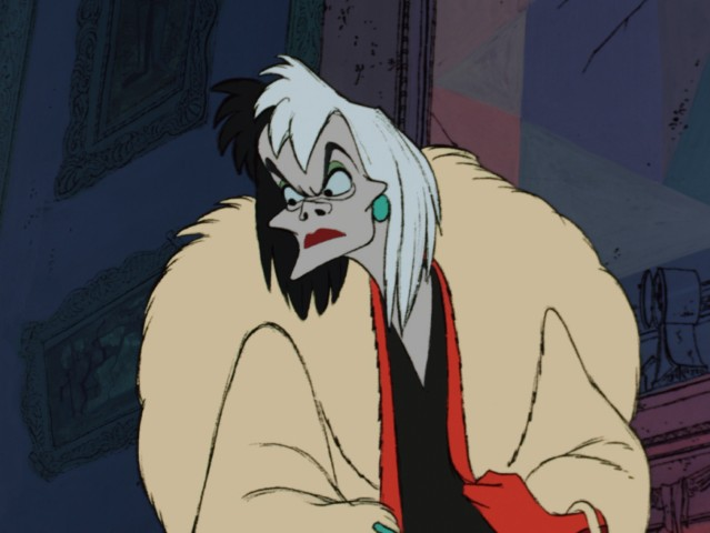 Cruella De Vil makes the most of her screentime to become one of cinema's most iconic villains.