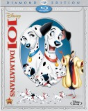 101 Dalmatians: Diamond Edition Blu-ray + DVD + Digital Copy combo pack cover art -- click to buy from Amazon.com