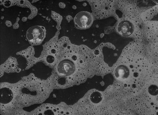 "The dying Johnny sees people in bubbles, one of a few instances where Carol Reed applies some visual flair to ""Odd Man Out."""