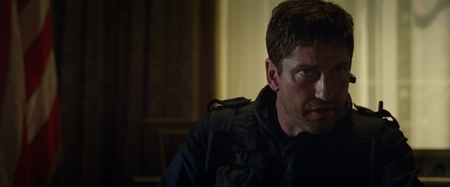 "Secret Service agent (Gerard Butler) is at the White House when America most needs him in ""Olympus Has Fallen."""