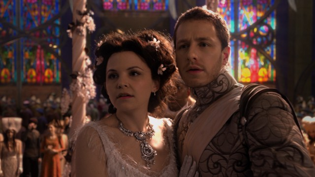 A happily ever after is not to be for Snow White (Ginnifer Goodwin) and Prince Charming (Josh Dallas), when their wedding is interrupted by the spell-casting Evil Queen.