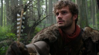 The Huntsman (Jamie Dornan) appointed to kill Snow White doesn't have the, uh, heart to do it.