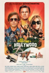 Once Upon a Time...in Hollywood (2019) movie poster