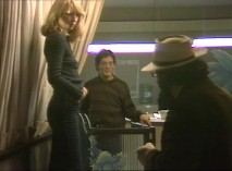 Teri Garr and Raul Julia rehearse through a travel agency scene with Francis Ford Coppola.