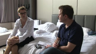 Writer/director Nicolas Winding Refn discusses the film with Mark Dinning in this hotel room interview.