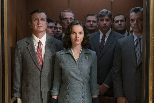 """On the Basis of Sex"" stars Felicity Jones as trailblazing lawyer and future U.S. Supreme Court Justice Ruth Bader Ginsburg."