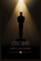 Official poster for the 2014 Oscars, the 86th Academy Awards.