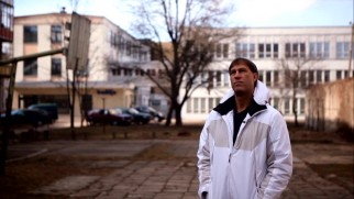 """This used to be my playground,"" thinks Sarunas Marciulionis."