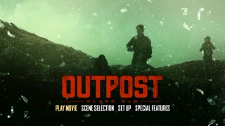"The ""Outpost: Black Sun"" main menu is filthy on DVD (seen here) and Blu-ray."