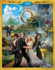 Oz the Great and Powerful Blu-ray + DVD + Digital Copy cover art -- click for larger view