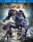 Pacific Rim: Blu-ray + DVD + UltraViolet combo pack cover art -- click to read the press release.