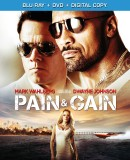 Pain & Gain: Blu-ray + DVD + Digital Copy combo pack cover art -- click to buy from Amazon.com